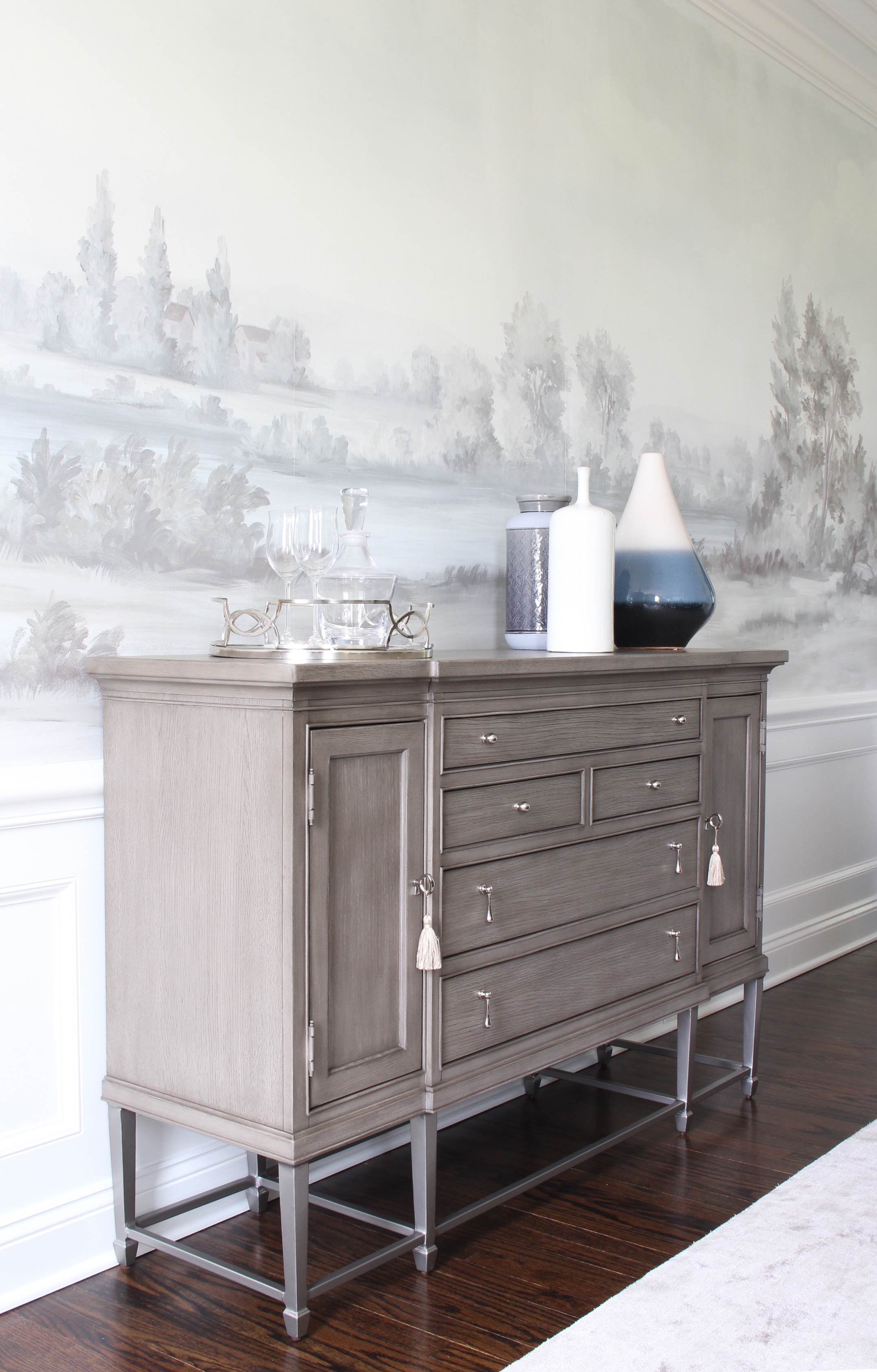 Hopewell Colonial Credenza