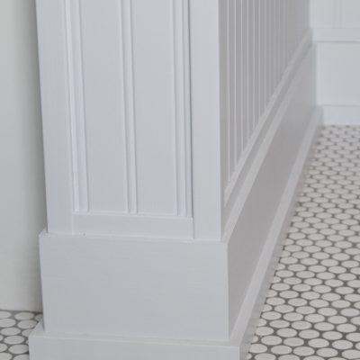 Patterson Farmhouse Bathroom Floor Detail