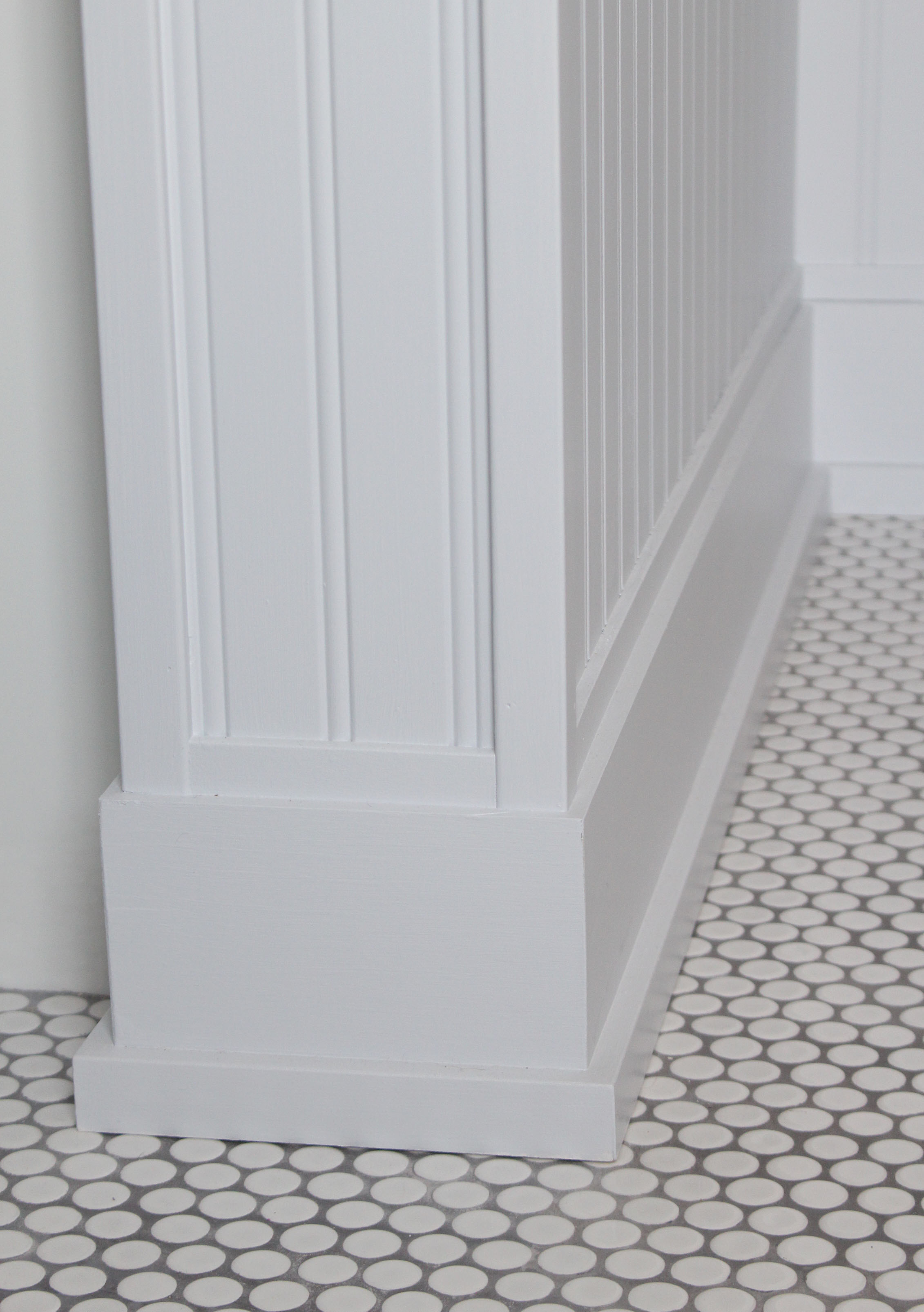 Patterson Farmhouse Bathroom Floor Detail
