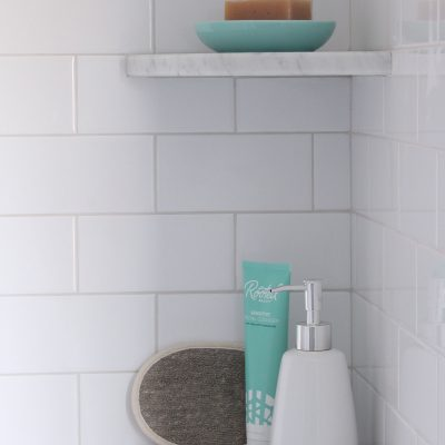 Patterson Farmhouse Bathroom Detail