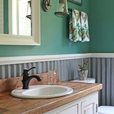 Pawling Farmhouse Bathroom