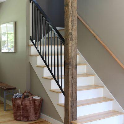 Pawling Farmhouse Staircase