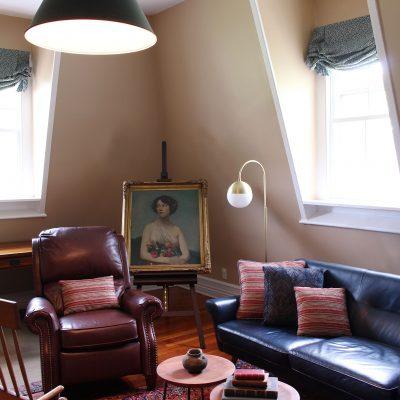 Tarrytown Historic Living Room
