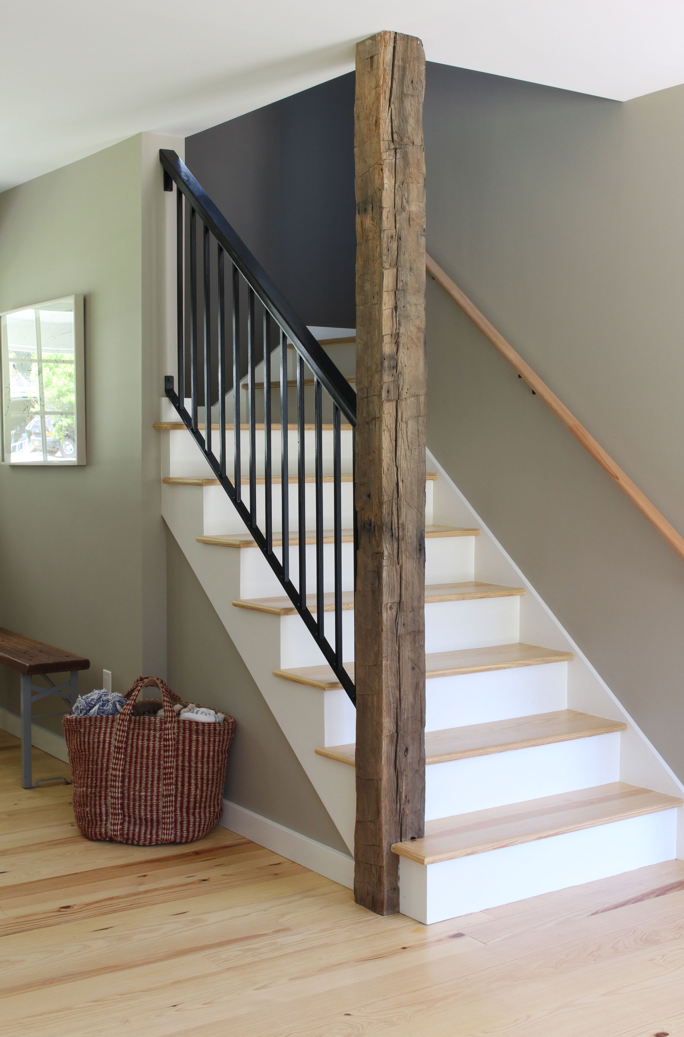Pawling Farmhouse Stairwell