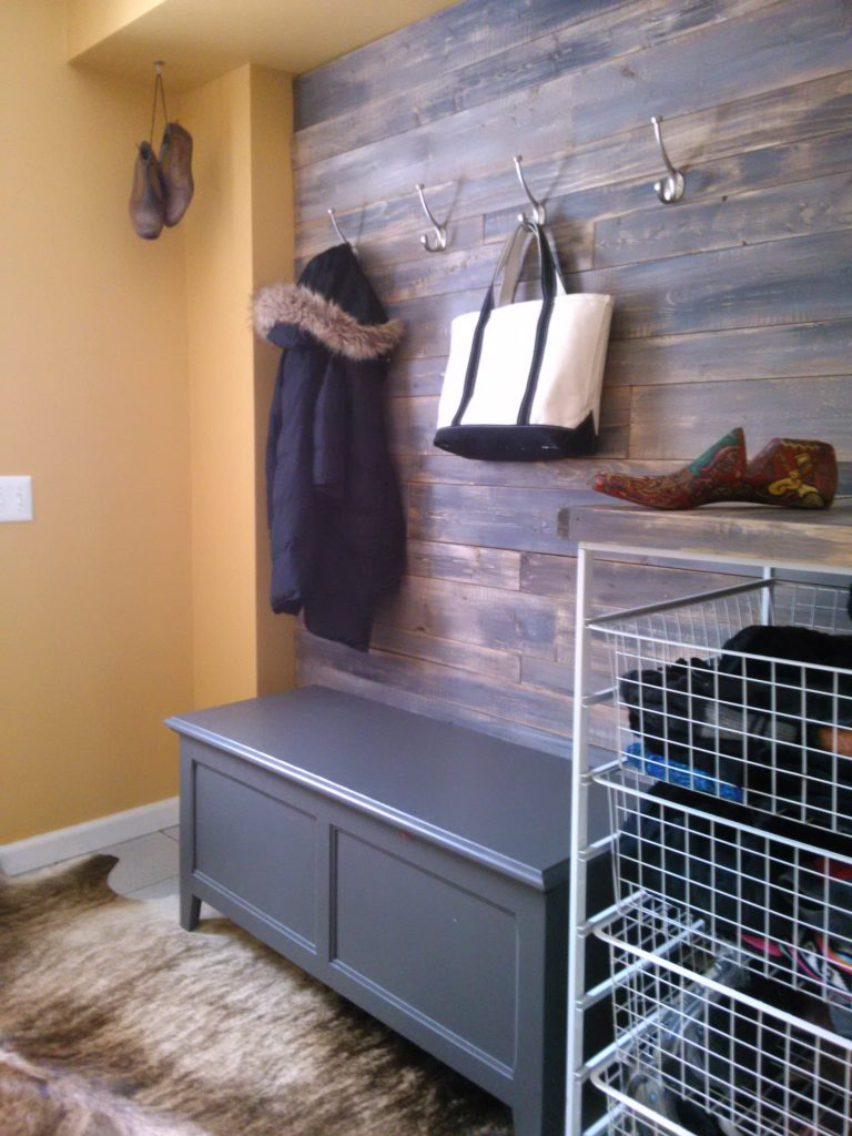 Barnwood Mudroom